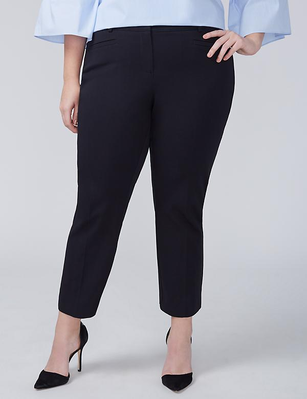 Allie Smart Stretch Slim Crop