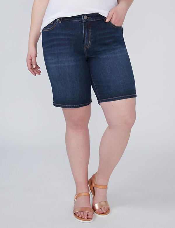 Denim Bermuda Short - Dark Wash