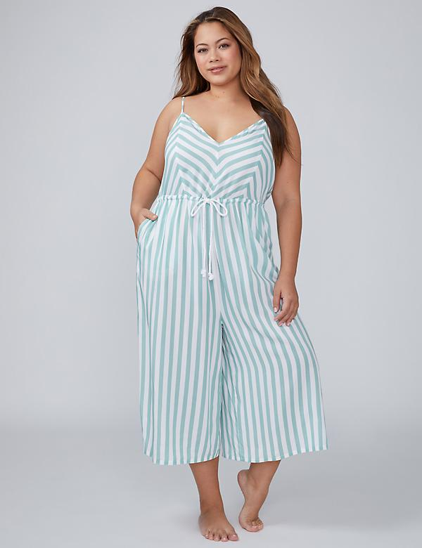 Woven Jumpsuit Cover-Up