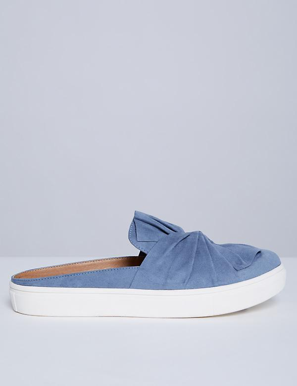 Slip-On Knotted Sneaker