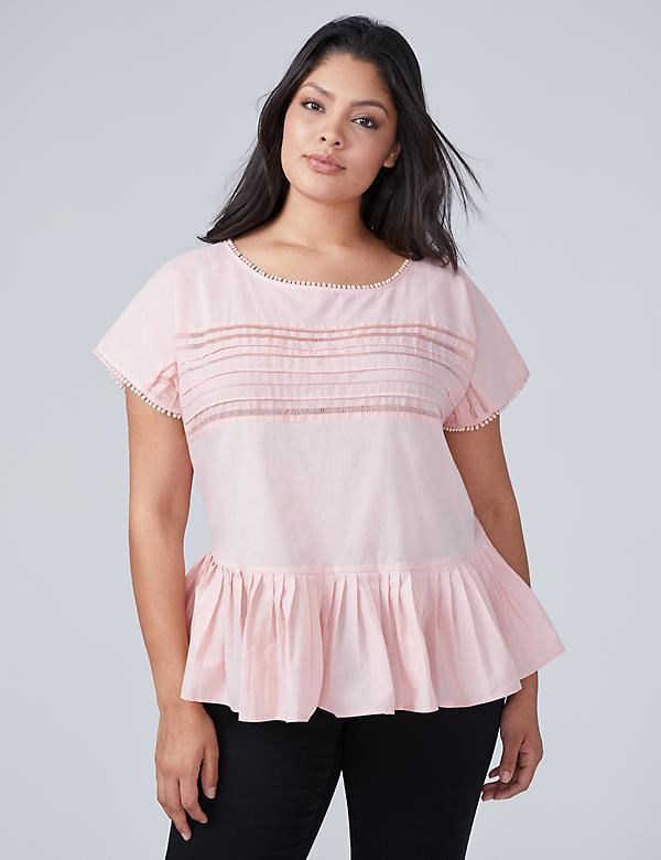 Plus Size Blouses & Women\'s Dressy Shirts | Plus Tops | Lane Bryant