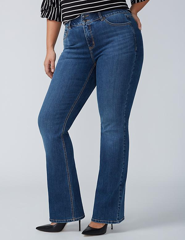 Boot Jean with T3 Tighter Tummy Technology - Santa Fe Wash