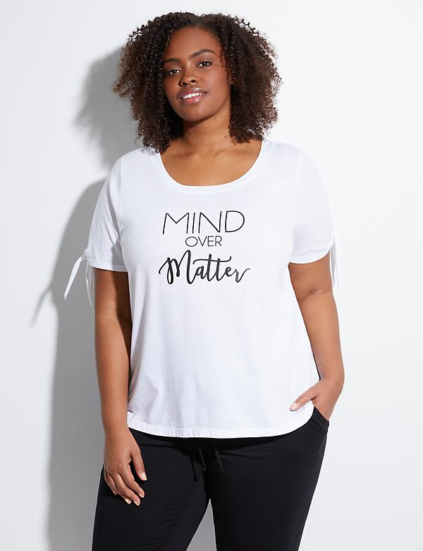 Wicking Mind Over Matter Graphic Active Tee