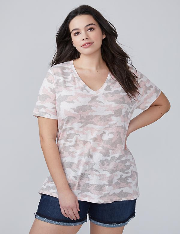 Split High-Low Hem Tee