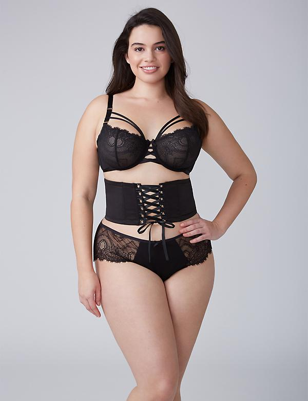 Lace-Up Waist Cincher
