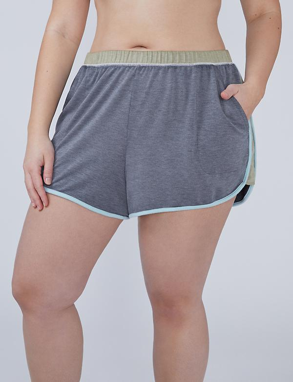 Colorblock Sleep Short