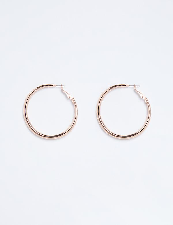 Rounded Hoop Earrings