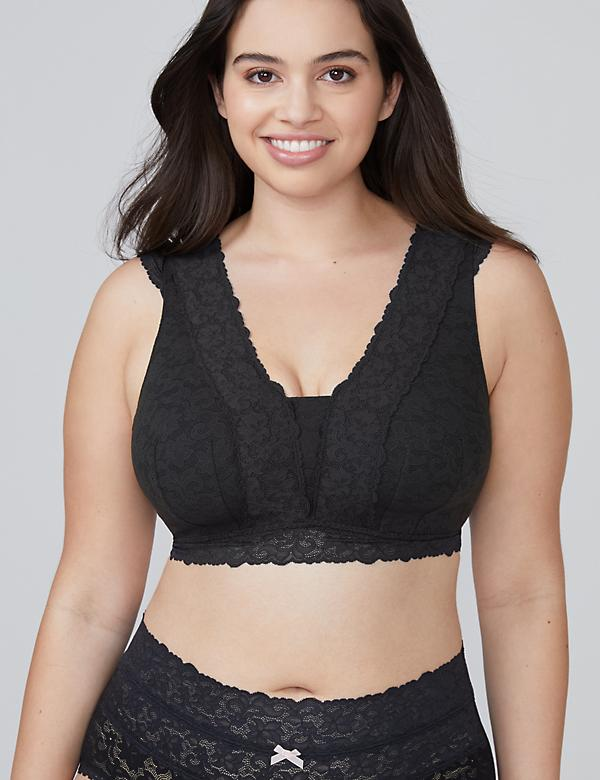 All-Over Lace Bralette