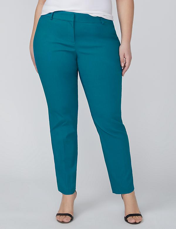 Allie Sexy Stretch Ankle Pant - Textured