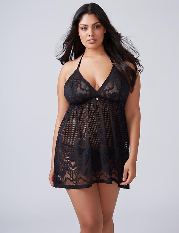 Deco Lace No-Wire Babydoll