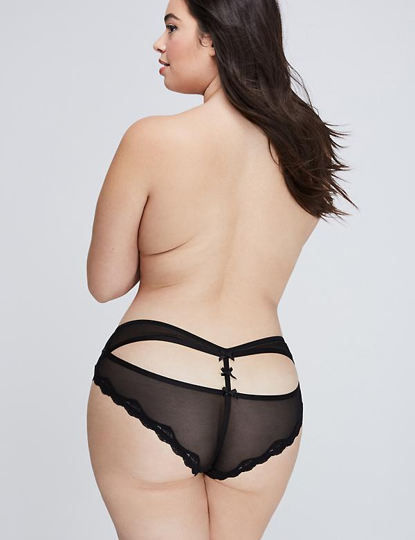 Open-Back Cheeky Panty