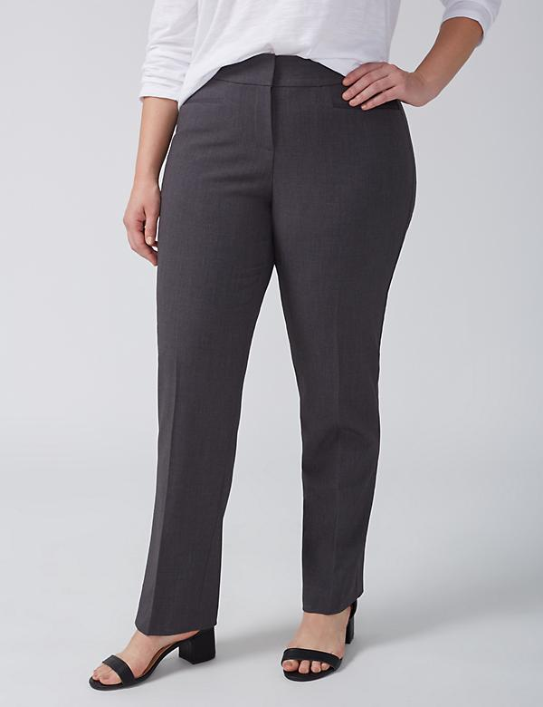 Lena Tailored Stretch Straight Leg Pant with T3 Technology