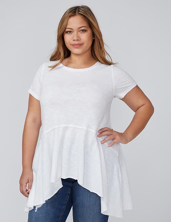 Sharkbite Peplum Top
