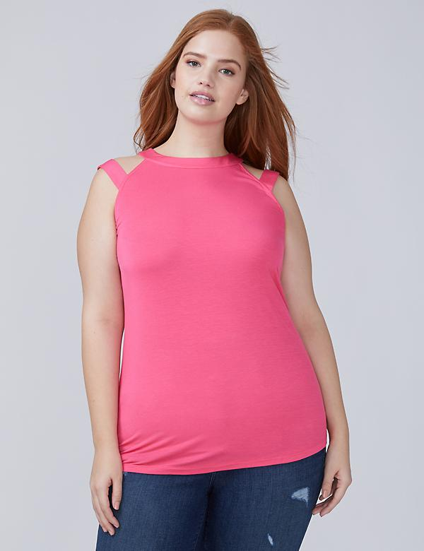 Split-Shoulder Tank