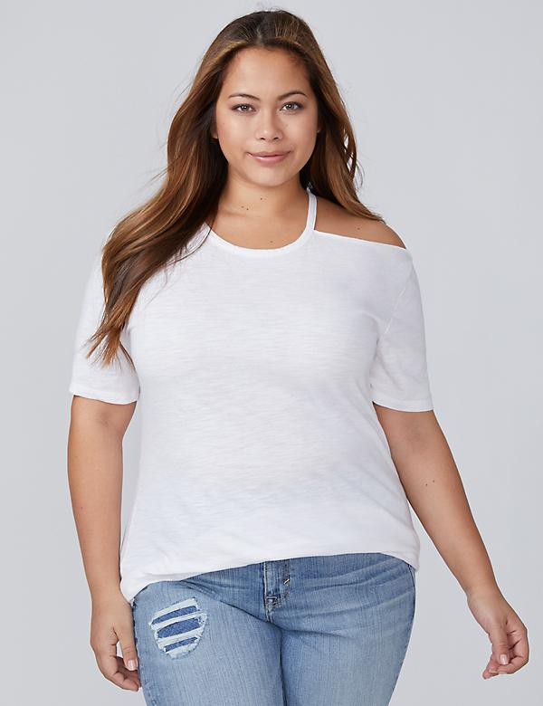 Single Cold Shoulder Tee