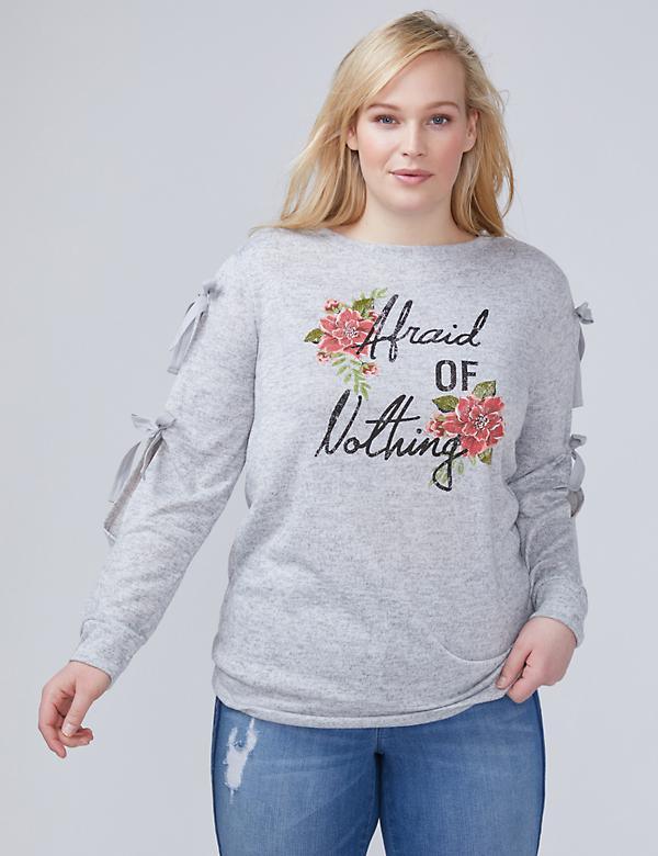 Afraid of Nothing Graphic Top