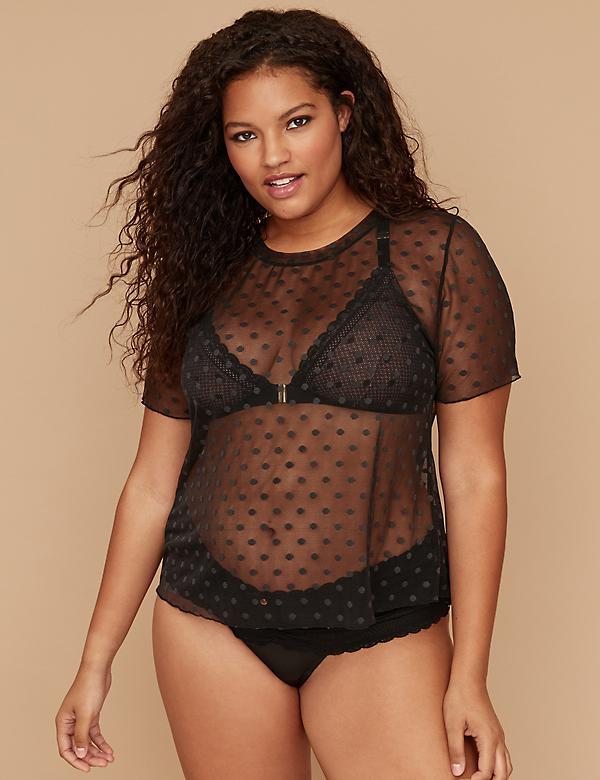 Cacique Mesh Top