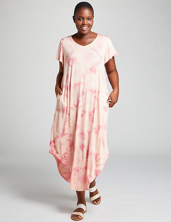 Tie-Dye Active Maxi Dress