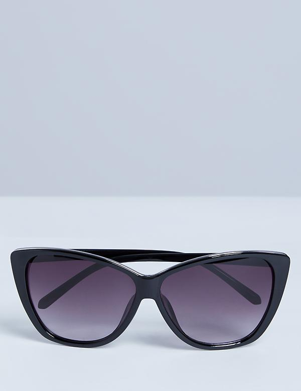 Oversized Sunglasses with Detailed Layered Frame