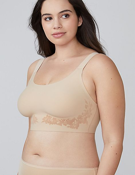 Next to Naked Unlined No-Wire Bra