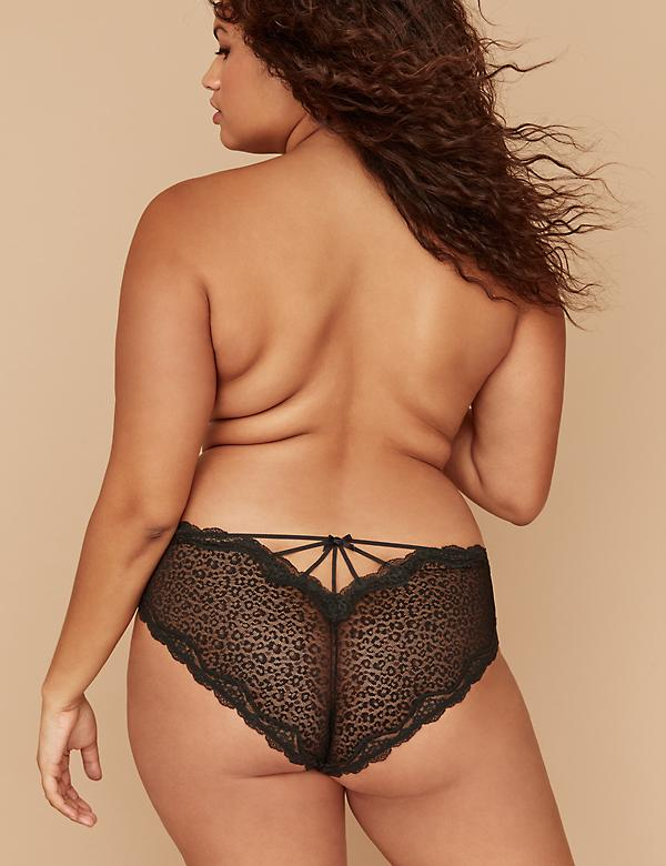 Animal Lace Cheeky Panty