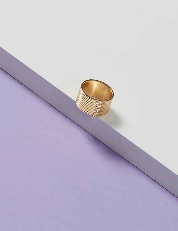Thick Textured Ring