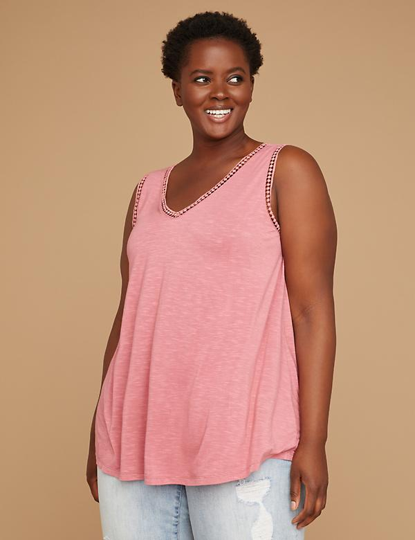 Crochet Strappy-Back Tank