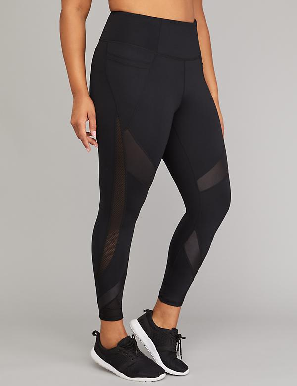 SculptLight Active 7/8 Legging - Chintz & Mesh