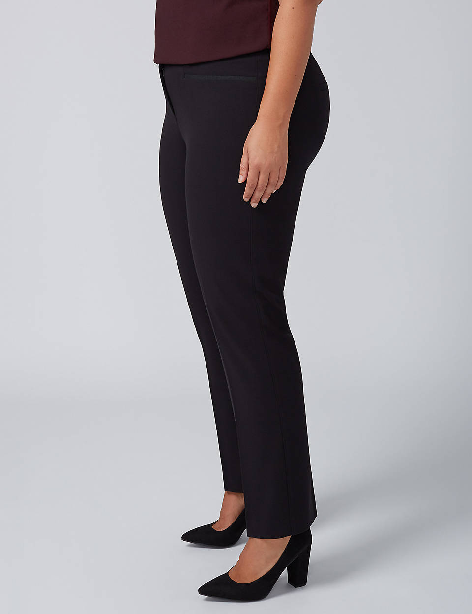 458c2056a21 Lena Tailored Stretch Straight Leg Pant with T3 Technology