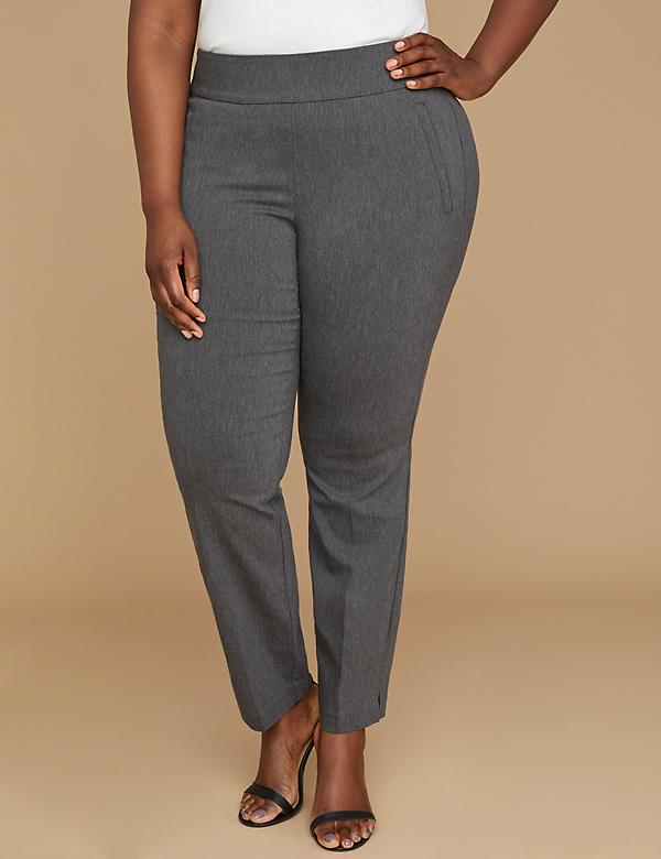 Allie Sexy Stretch Ankle Pant - Pull-On