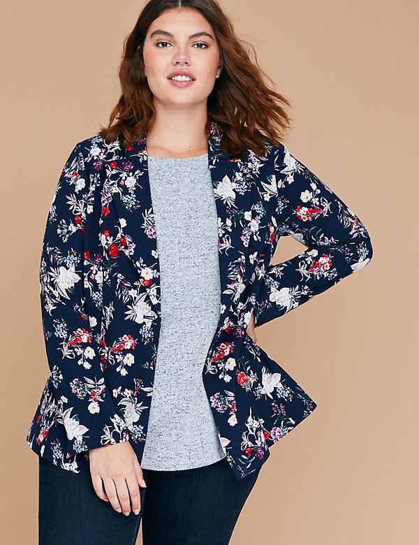 644b7b24fc5 Plus Size Women s Blazers   Bomber Jackets