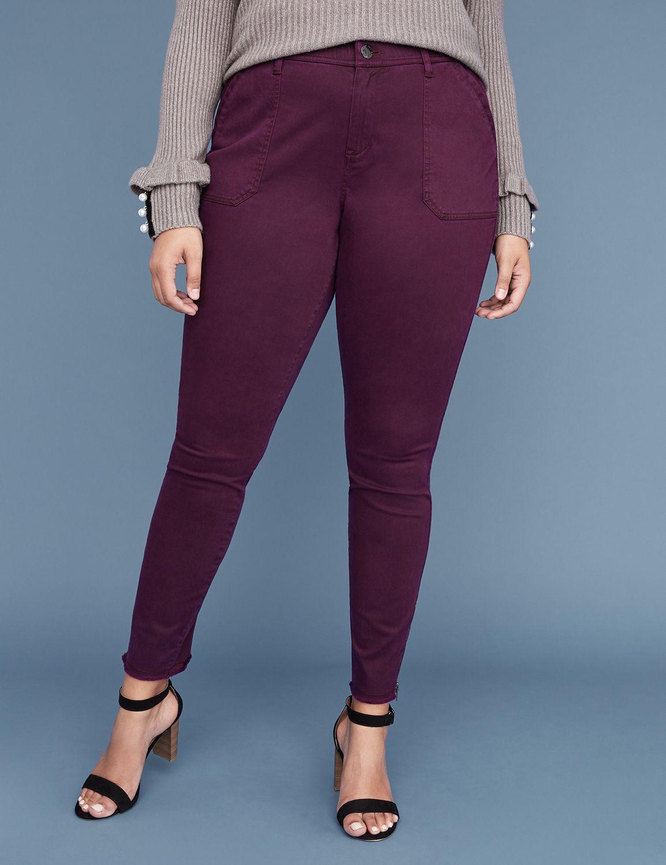Utility Skinny Pant - Zip Ankle