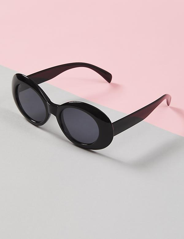 Black Mod Sunglasses