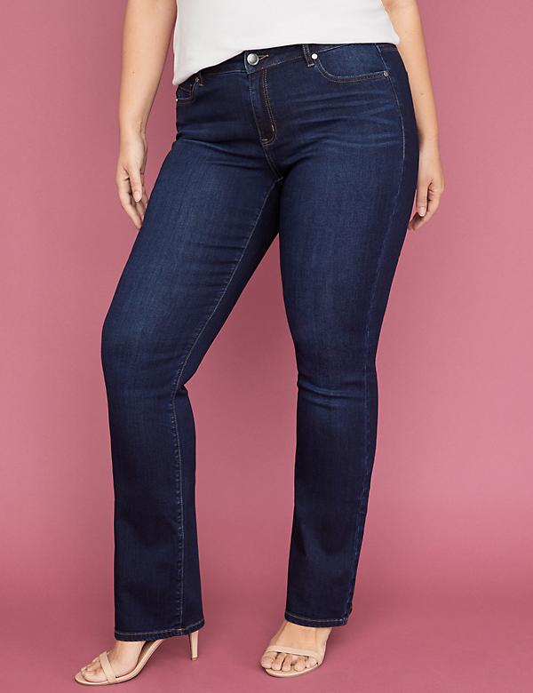 Super Stretch Slim Boot Jean - Dark Wash