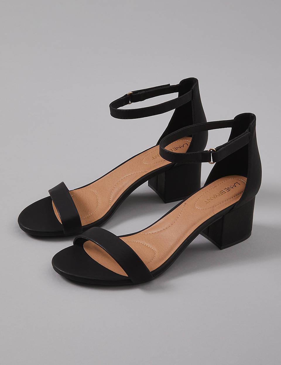 Block Ankle Strap Sandal Short Heel TKJc51uF3l