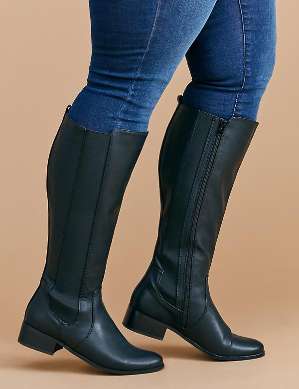 Side Gore Riding Boot