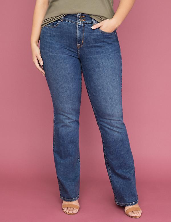 481314703fc Tighter Tummy Essential Stretch Boot Jean - Medium Wash