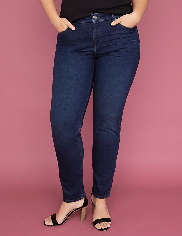 Super Stretch Straight Jean - Dark Wash