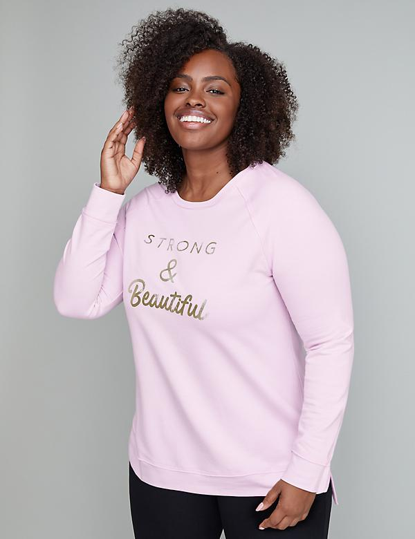 Strong & Beautiful Graphic Active Sweatshirt