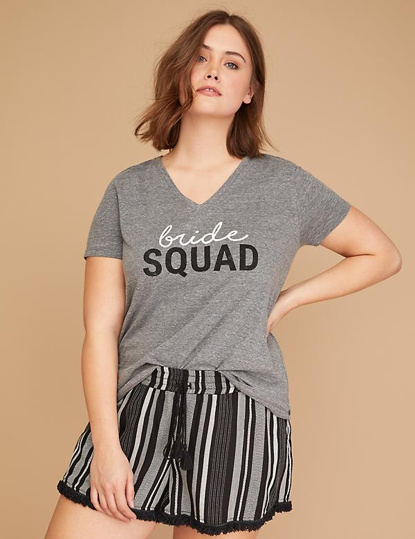 Bride Squad Graphic Tee