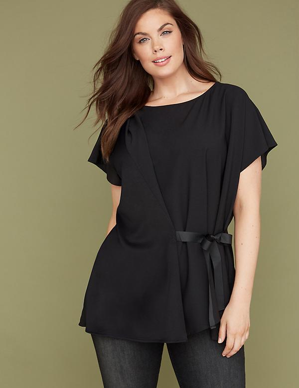 Tie-Front Tunic