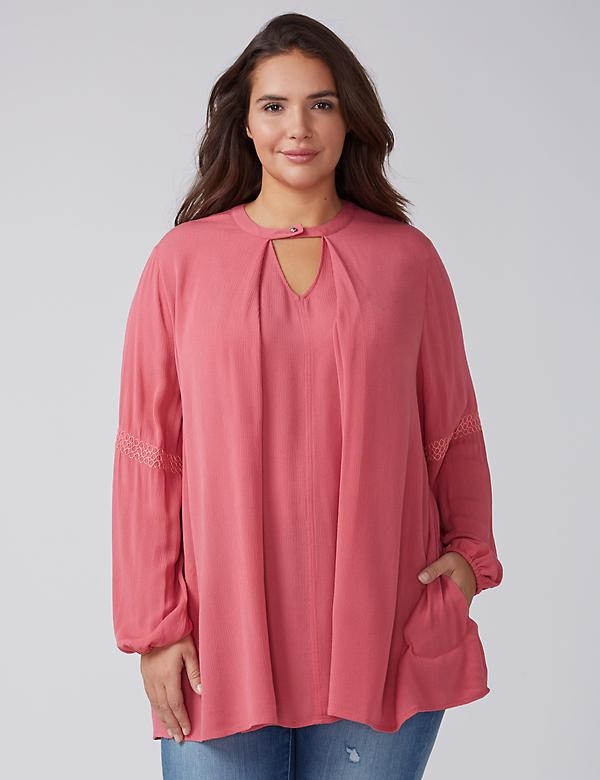 Choker-Neck Tunic