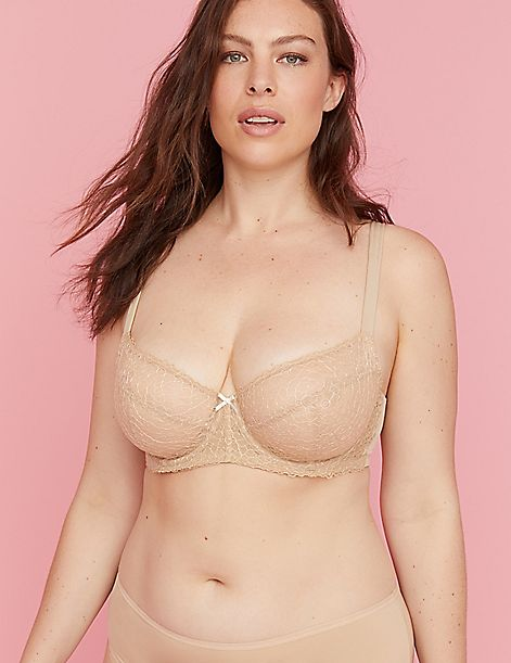 Lace Unlined Boost Balconette Bra