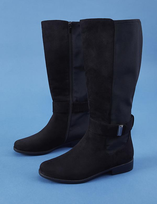 To-The-Knee Buckle Boot