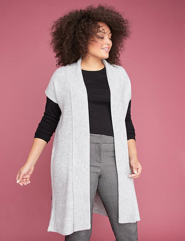Side-Zip Duster Vest