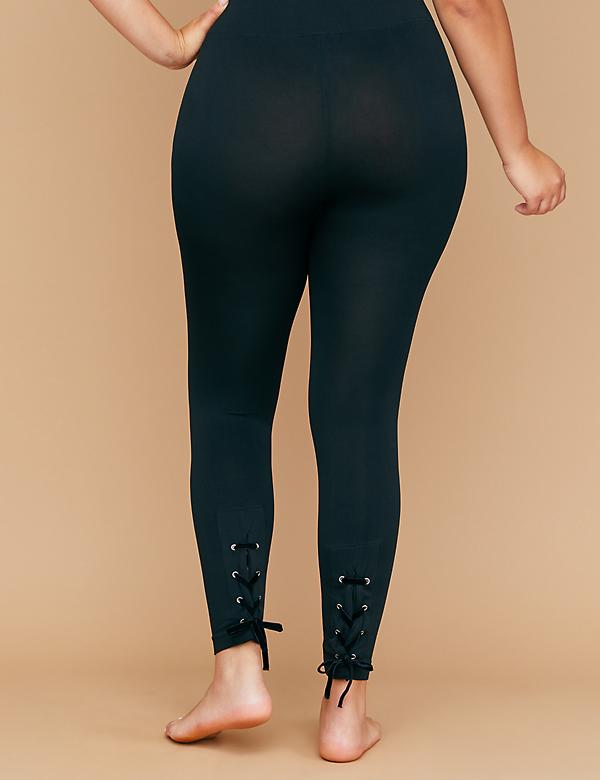 Seamless Leggings - Lace-Up