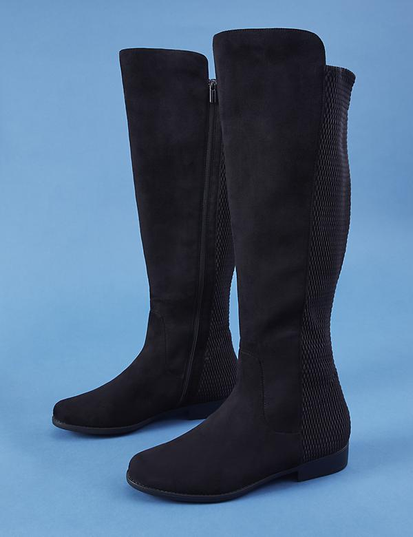 Flat Over-the-Knee Boot