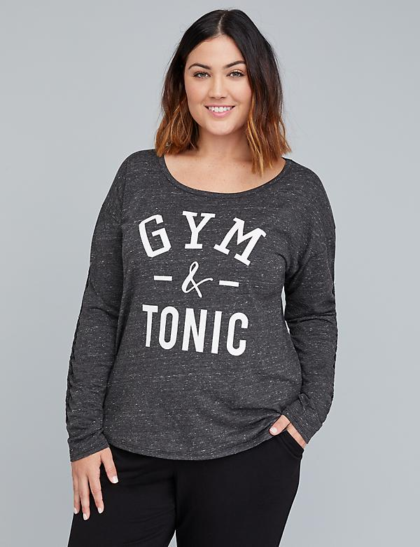 Gym & Tonic Graphic Active Top