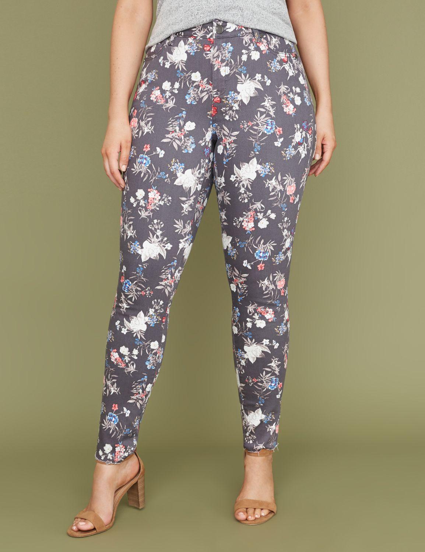 Petite Super Stretch Skinny Jean - Garden Floral Print
