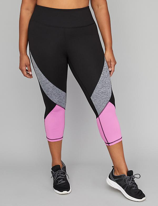 Sculpting Active Capri Legging - Fabric Blocked